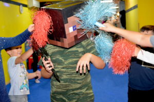 Minecraft party2